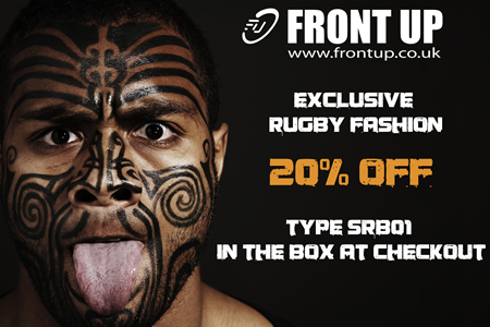 Front Up Discount Code