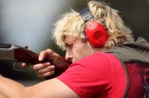 Richie Gray Clay Pigeon Shooting, picture courtesy Scottish Rugby/PA Images