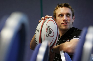Mike Blair - image courtesy Edinburgh Rugby / AP