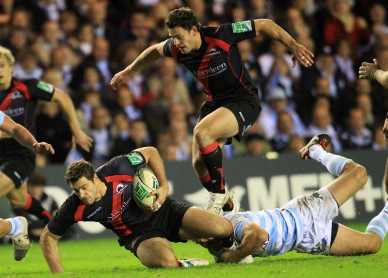 Rugby Union - Heineken Cup - Pool 2 - Edinburgh Rugby v Racing Metro - Murrayfield