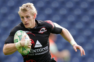 Ben Cairns - photo courtesy Edinburgh Rugby