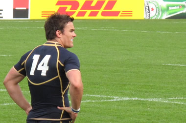 Max Evans - © Scottish Rugby Blog