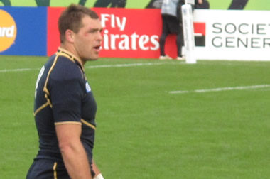 Sean Lamont - (c) Scottish Rugby Blog