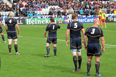 Scotland Players - (c) Scottish Rugby Blog