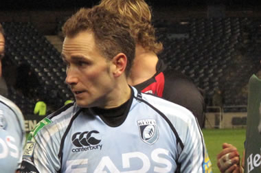 Dan Parks - © 2012 Scottish Rugby Blog
