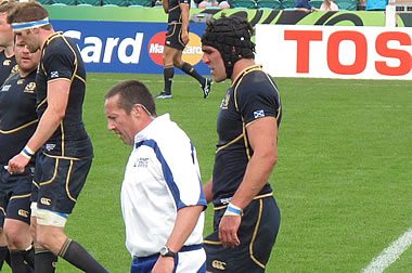Dave Pearson - © Scottish Rugby Blog