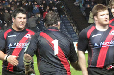 Edinburgh Props - © Scottish Rugby Blog