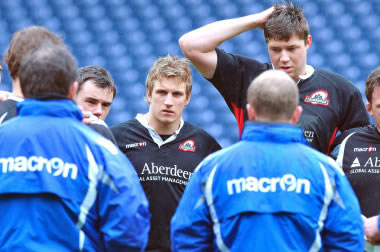 Tom Brown - pic courtesy Edinburgh Rugby