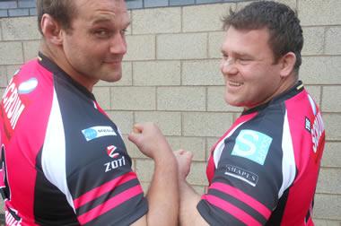 Geoff Cross and Allan Jacobsen