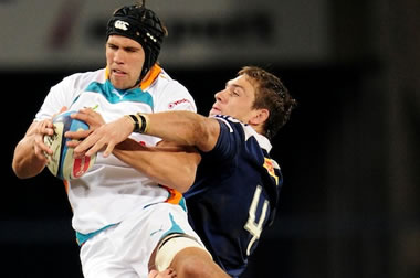 Izak van der Westhuizen - pic courtesy Edinburgh Rugby