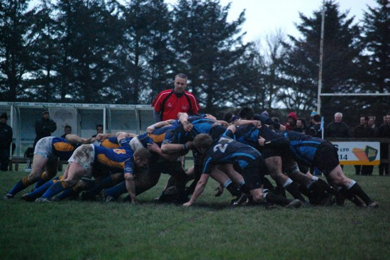 Berwick Scrum - © Cameron Black