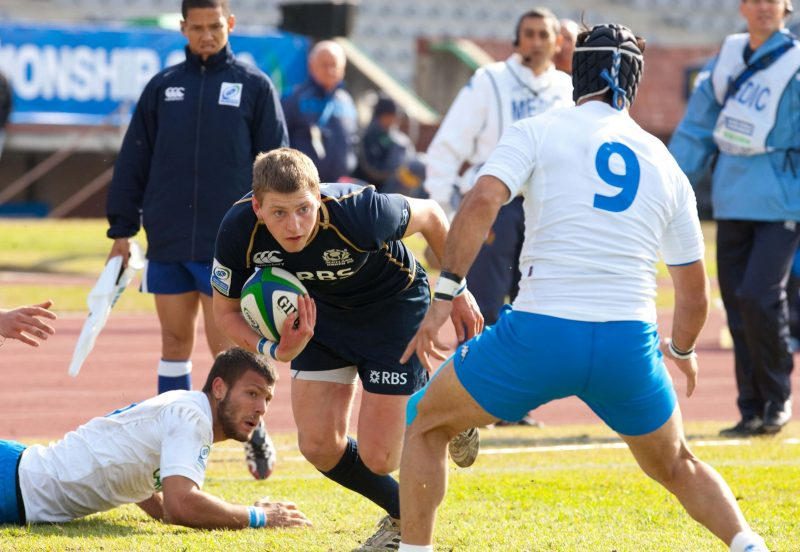 Finn Russell - pic courtesy IRB / Image SA