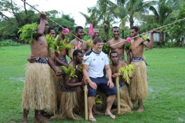 Ross Ford in Fiji - pic courtesy SRU
