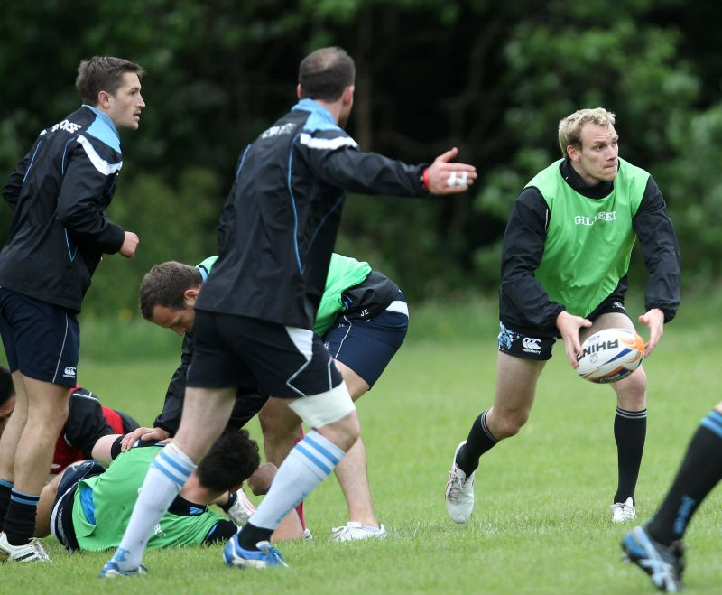 Fraser Thomson - Glasgow Warriors train at Cartha Queens Park RFC - pic courtesy SRU / PA Images