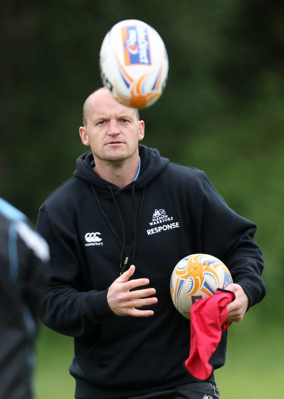 Gregor Townsend - Glasgow Warriors train at Cartha Queens Park RFC - pic courtesy SRU / PA Images