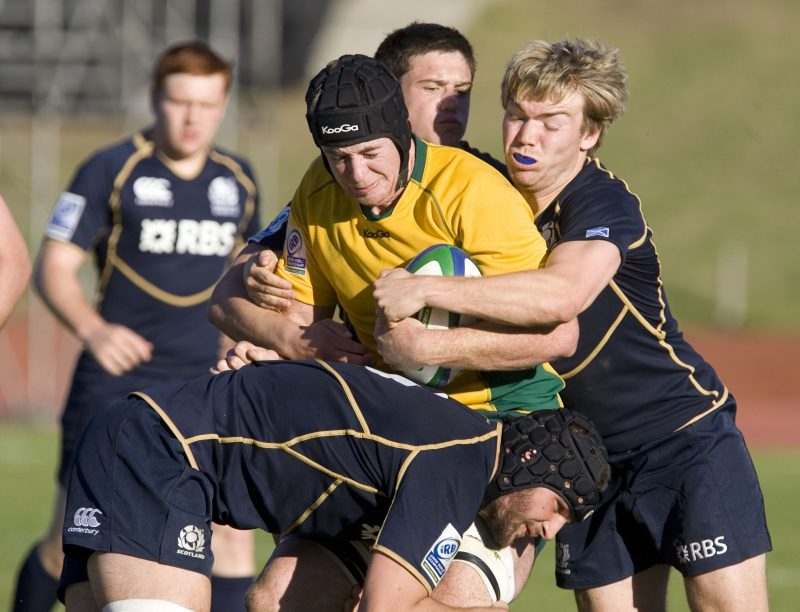 IRB Junior World Champs - Aus v Sco - pic courtesy IRB/ImageSA