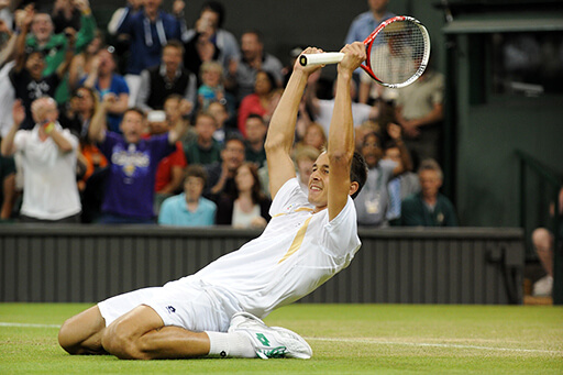 Pic - Neil Tingle / AELTC