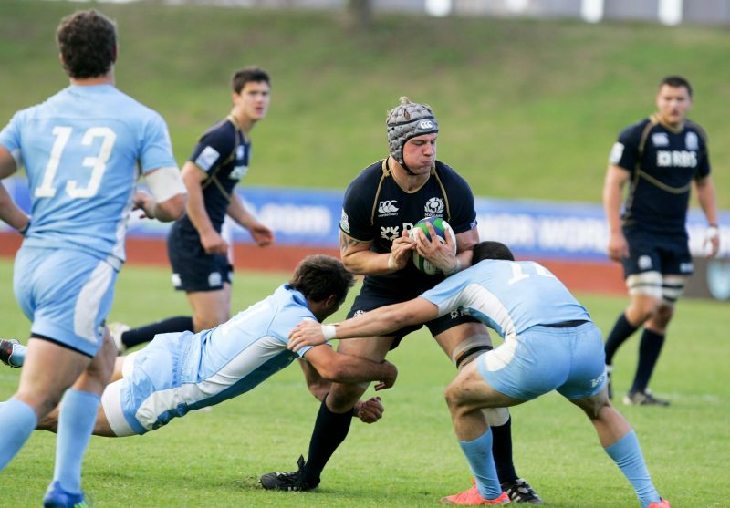 Mitch Eadie - Scotland U20 vs Argentina U20 - Pic courtesy IRB / Image SA