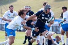 Mitch Eadie playing for Scotland U20s - Picture courtesy IRB/Image SA