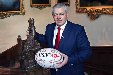 Warren Gatland - pic courtesy InPhoto/Lions Rugby