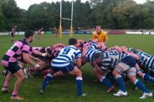 Ayr vs Heriots at Millbrae