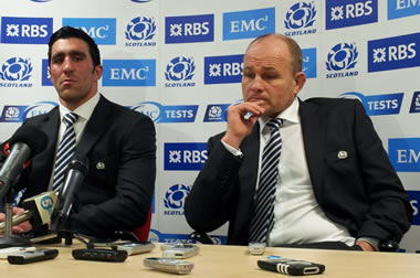 Andy Robinson and Kelly Brown in sombre mood after defeat to Tonga