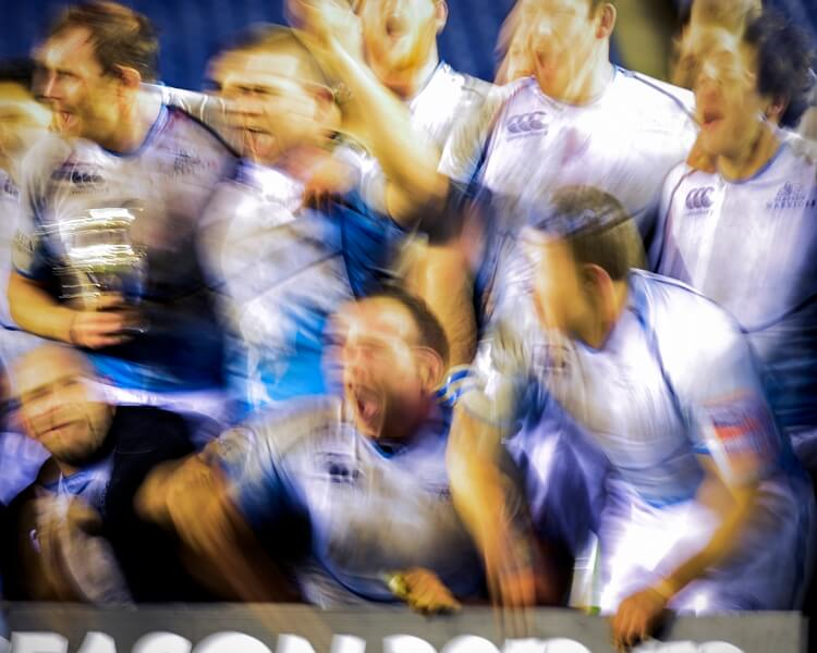 Glasgow Celebrate Victory in the 1872 Cup - Photo © Alastair Ross