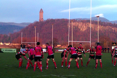 Stirling vs Bedford - pic © Moody Blue