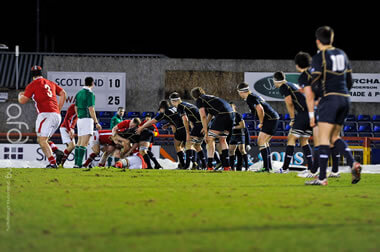 Scotland U20s prepare to defend - pic © AFD Imaging