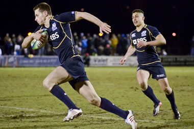 Scotland U20s in action - pic &copy: Alastair Ross