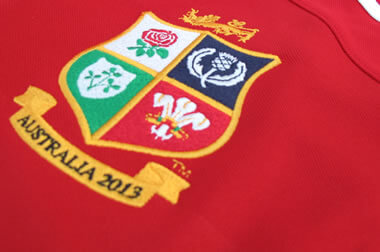 Lions Crest detail - pic © Scottish Rugby Blog