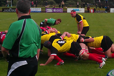 Stirling County v Glasgow Hawks - pic © Moody Blue