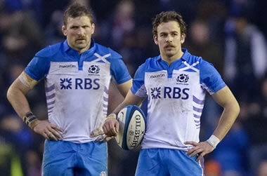 John Barclay and Ruaridh Jackson - pic © Al Ross