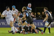Glasgow v Leinster - pic © Al Ross