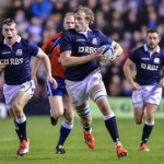Jonny Gray on the charge - pic © Al Ross