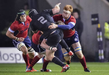 Scotland vs New Zealand - pic © Al Ross