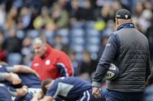Scotland coaching staff - pic © Al Ross
