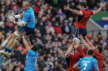 Parisse v Beattie, no contest? - pic © Al Ross