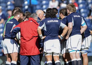 Scotland Huddle - pic © Al Ross