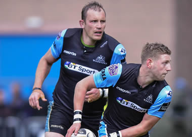 Finn Russell and Al Kellock - pic © Al Ross