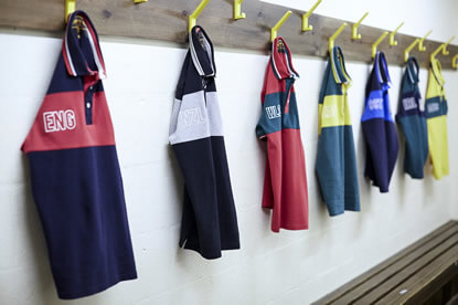 Home Nations Shirts from Front Up Rugby
