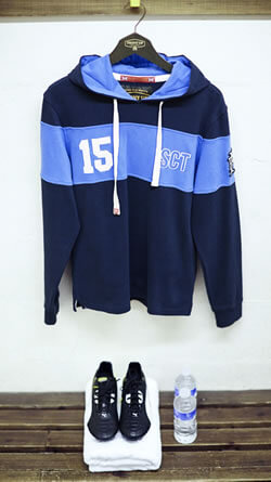 Scotland Hoody by Front Up Rugby