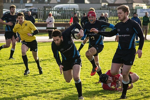 Berwick RFC vs Orkney RFC - pic © David Boyes