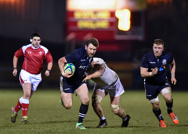 Scotland Club XV won 57-27 - pic © Al Ross/Novantae Photography