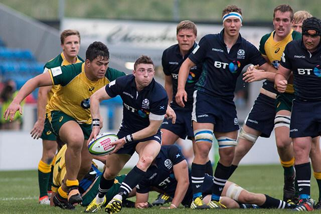 Scotland U20s v Australia U20