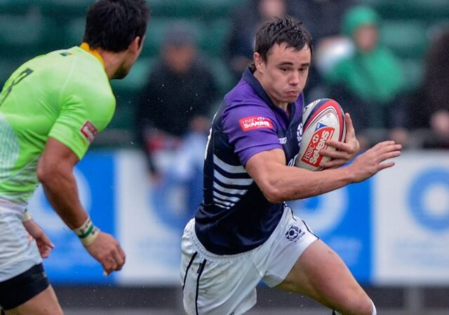 Lee Jones in Sevens action for Scotland - pic © Al Ross/Novantae Photography
