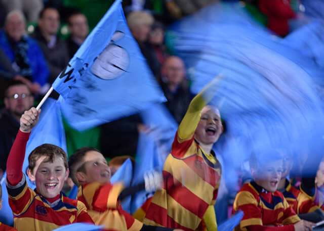 Rugby Fans - pic © Al Ross