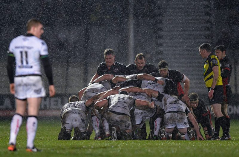 Scrum in the rain