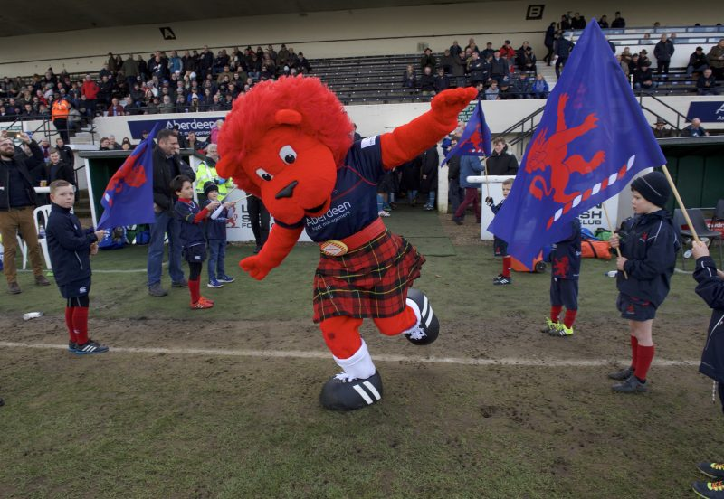 London Scottish Mascot