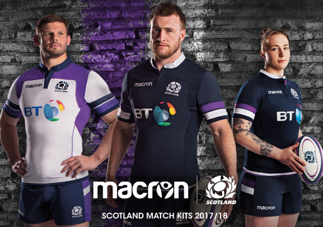 Scottish Rugby Macron